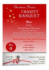 Charity Banquet at St Marys Church