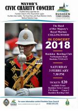 Mayor's Civic Charity Concert by The Band of Her Majesty's Royal Marines Collingwood