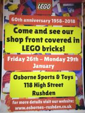 Osborne Sports & Toys Celebrating 60th Anniversary 1958 - 2018