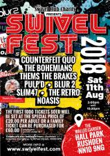 Swivel Fest - Saturday 11th August 2018