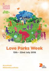 Love Your Park - Monday 16th July 2018 - Hall Park, Rushden 12:00 - 15:00pm