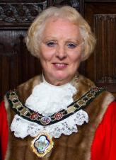 Past Mayor of Rushden, Cllr Barbara Jenney sends her grateful thanks to all