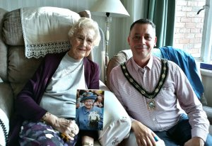 Mrs Clark - 100 Years Old Today