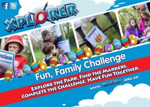 Easter Xplorer Family Orienteering Event, Hall Park, Rushden, Thursday 11th April.