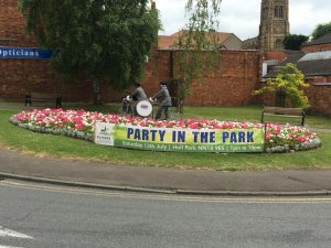 "Rushden is ready to ""Party in the Park""."