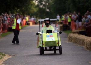 Rushden's Soap Box Derby 2020 is here! 'On your marks, get set, GO!'