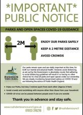 Parks and Open Spaces COVID-19 Guidance