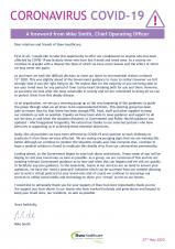 Covid-19 Statement from Shaw Healthcare