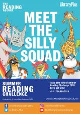 Northamptonshire County Council's Libraries are inviting all children to join the Silly Squad Summer Reading Challenge 2020.