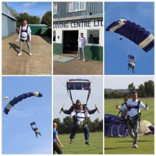 Mayor's Charity Sky Dive