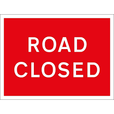 Information received regarding the closure of High Street South, Rushden from the 6th October 2020