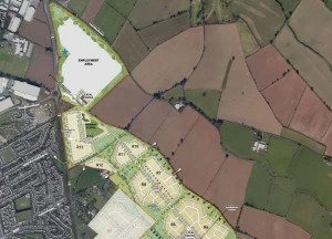 Consultation Opens on Planning Application for up to 2200 dwellings