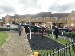 Additional toddler play equipment installed at Tweed Crescent
