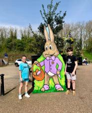 Easter Bunny Trail Competition
