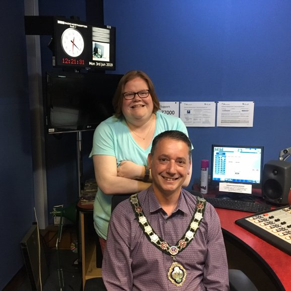 Interview with Helen Blaby of BBC Northampton 'Monday Mayor'