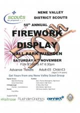 Nene Valley District Scouts Annual Firework Display